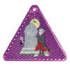 Halloween Triangle Purple